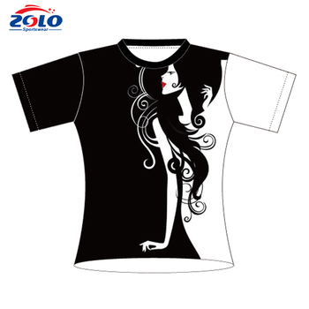 Directly factory sale longline popular dry fit custom t shirt