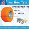 3.50-8 ,4.00-8 wheelbarrow/wheel barrow tyre for hand truck,hand trolley,lawn mover,weelbarrow,toolcarts