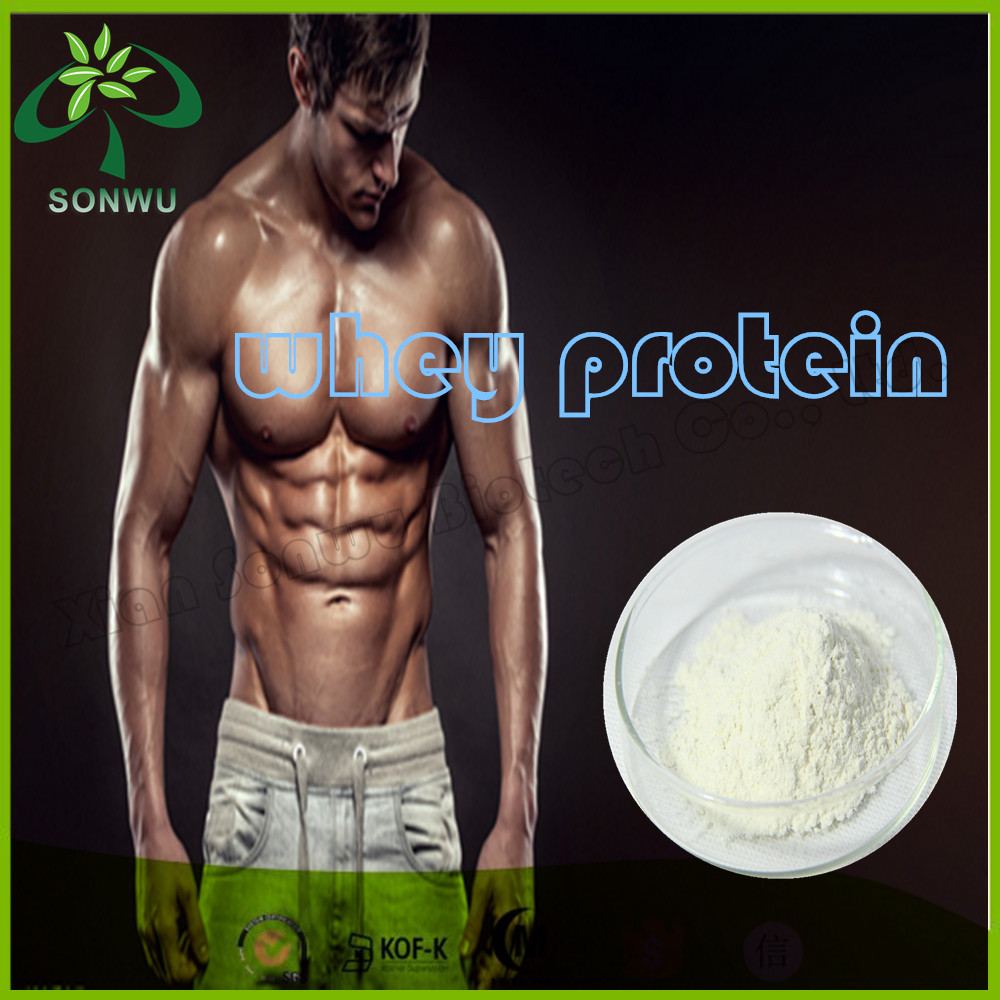 ISO-100 whey protein whey protein concentrate 80% from new zealand