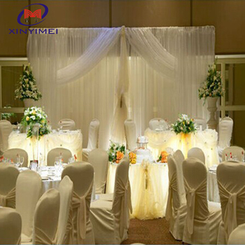 Modern Design Wedding Organza Decoration Backdrop