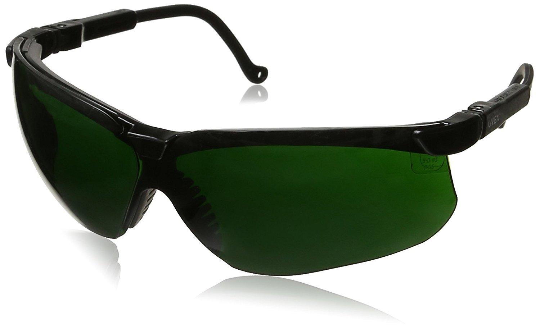 Uvex S1112 Astrospec 3000 Black Frame Safety Glasses With 5.0 Shade Lens