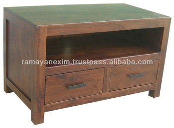 Massief Houten Meubels : Houten tv stand meubelen lcd led tv stand woonkamer meubels