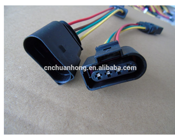 Audi Vw Skoda Vag 4 Pin Automotive Coil Extension Adapter Wiring Harness  Pin Wiring Harness on