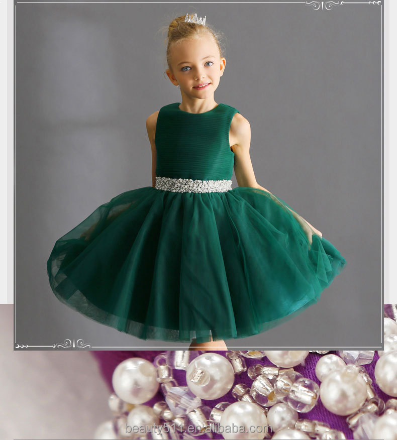 Children Girl 7th Birthday Party Lace Maxi Dress For Kids With ...