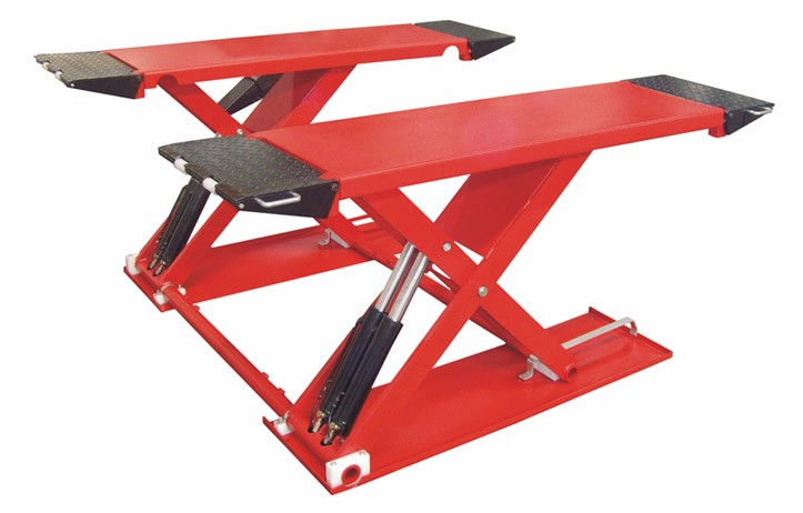 Gs 3000sm 3tons Mid Rise Scissor Car Lift Portable Car Lift Small