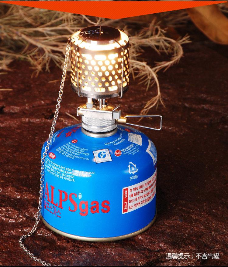 gás fogão tenda aquecimento acampamento a gás luz iluminado BL300-F2