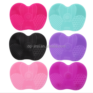 Silicone cosmetic brush cleaner makeup brush cleaner mat