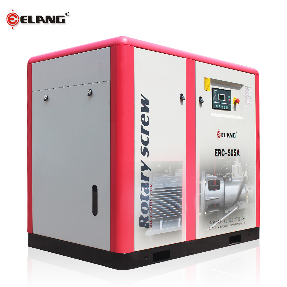 37kw Touch Screen Permanent Magnet Variable Frequency air compressor