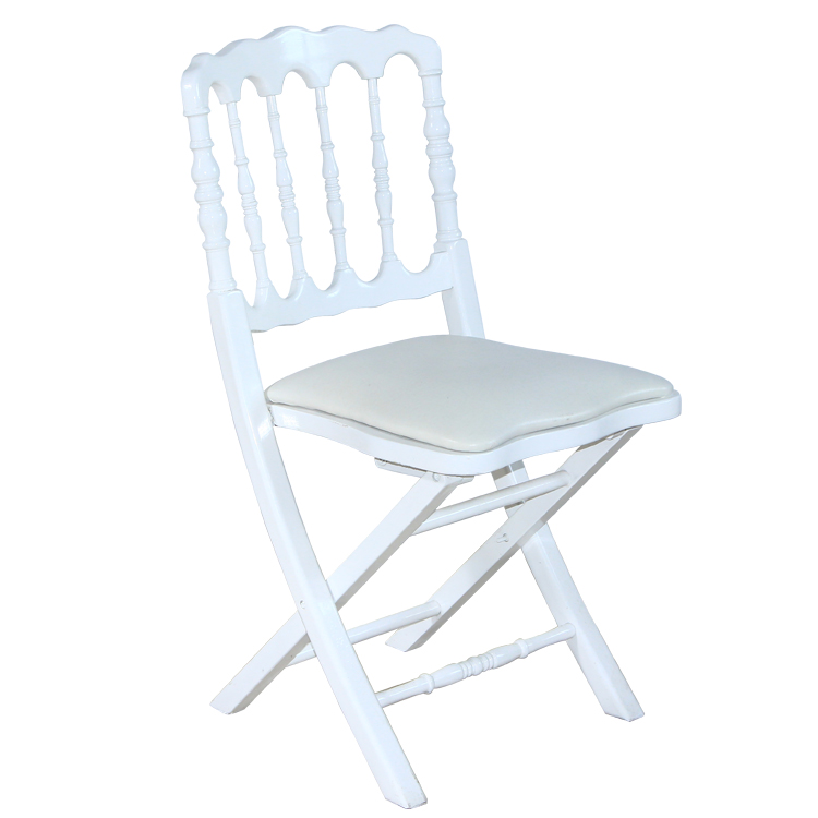 cheap wooden folding napoleon chair factory