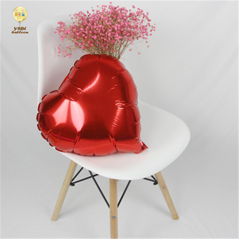 Wedding Party Decorations Valentines Day Gift 18inch Foil Helium Red Heart Balloon