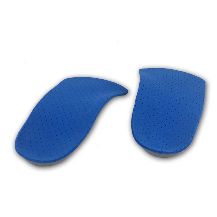 Vendre comme gâteau chaud 3/4 semelles orthopédiques en silicone gel semelle intérieure pour chaussures