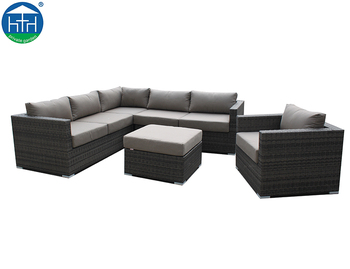 Sectional Cheap Prices Home Balcony Rattan Outdoor Corner ...