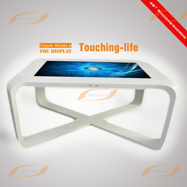 42 inch Restaurant/School/Museum/Library use Multi touch screen desk
