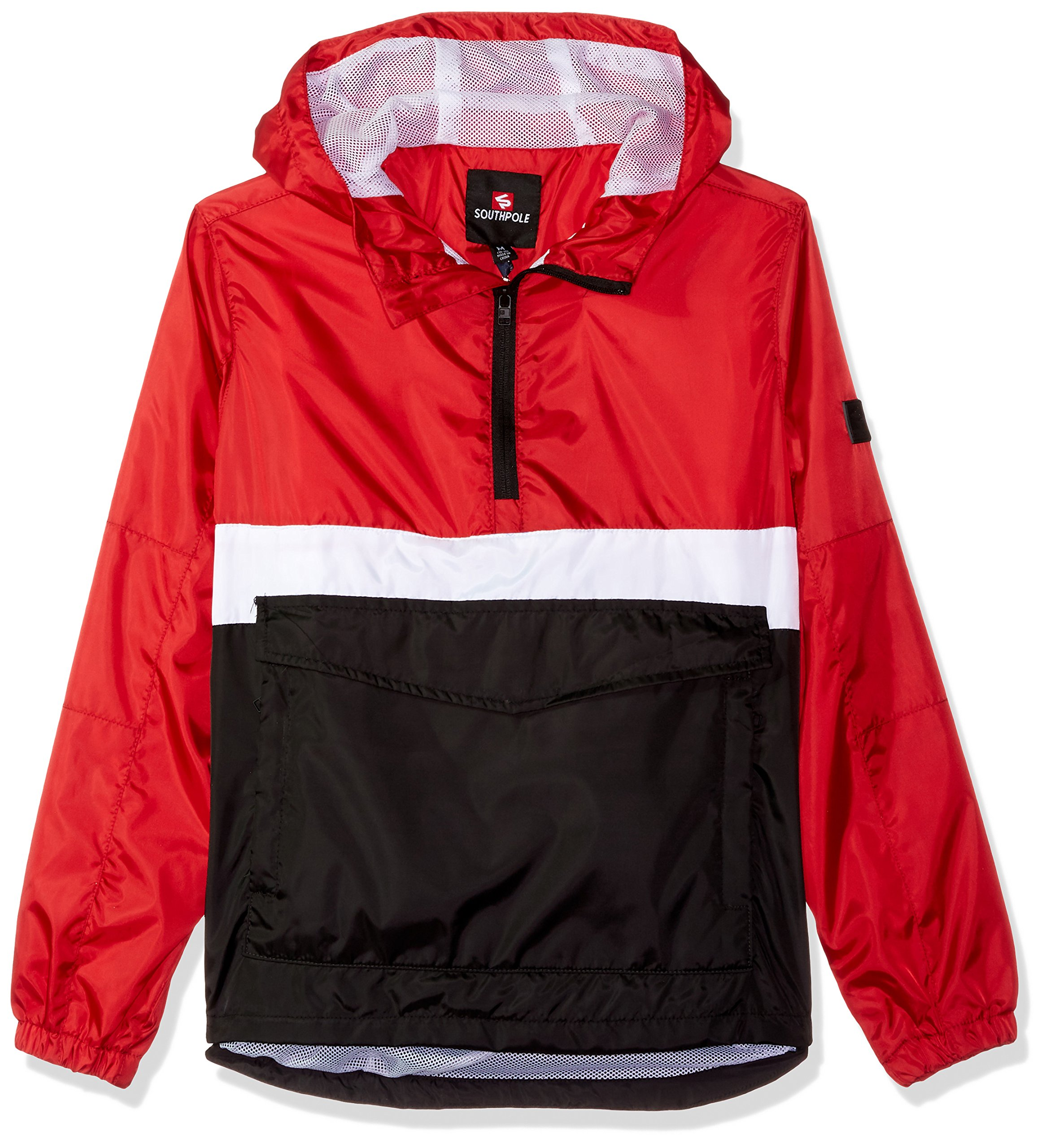 Get Quotations · Southpole Big Boys  Anorak Colorblock Water Resistance  Hooded Pullover f555f7d03
