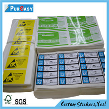 Direct thermal heat sensitive shipping label printing