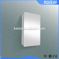 factory mirro SS rattan bathroom cabinets
