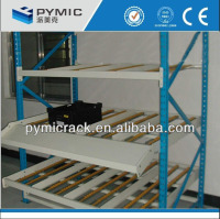 Roller rack with wheels storage rack system