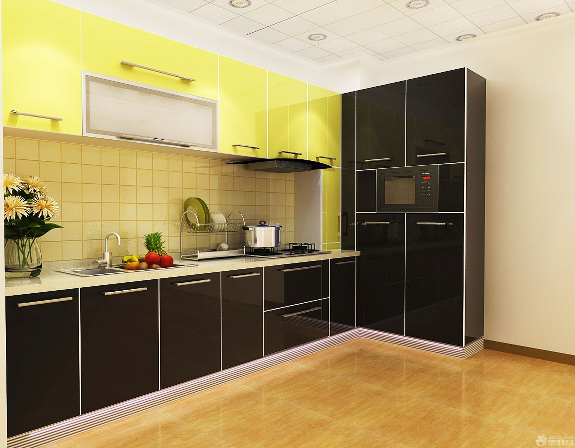 Black High Gloss Kitchen Cabinets Simple Designs Pantry Cupboards Buy Kitchen Pantry Cupboards Kitchen Cabinet Simple Designs High Gloss Kitchen