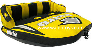 inflatable towable water tubes,inflatble surfing tubes/water ski tube