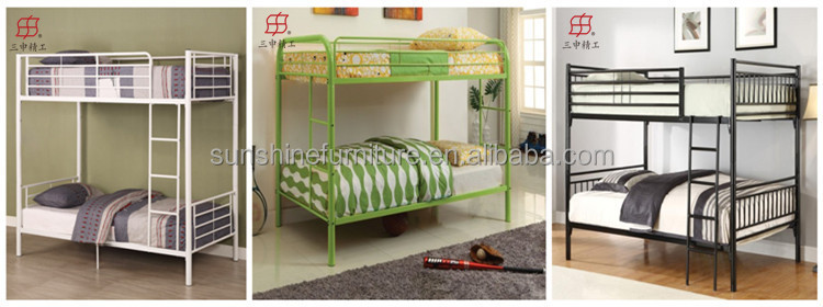 Heavy Duty Metal Twin Over Twin Twin Over Full Size Bunk Beds For