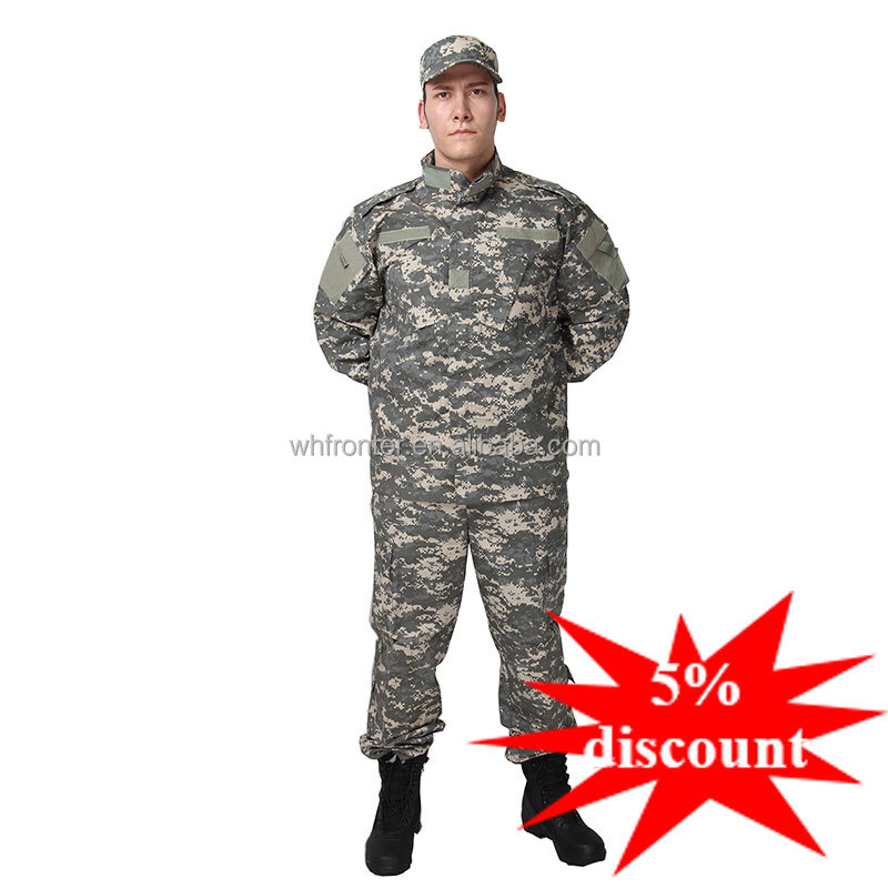 Factory price universal camo acu military clothing
