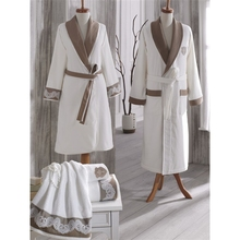 wedding souvenirs custom design bathrobe gift set