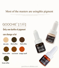 Goochie <span class=keywords><strong>Permanent</strong></span> Make-Up Augenbraue Microblading Pigmente