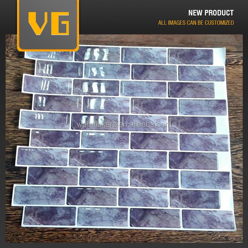 Heiße produkte schönes design epoxidharz 3d vinyl stein tapete ...