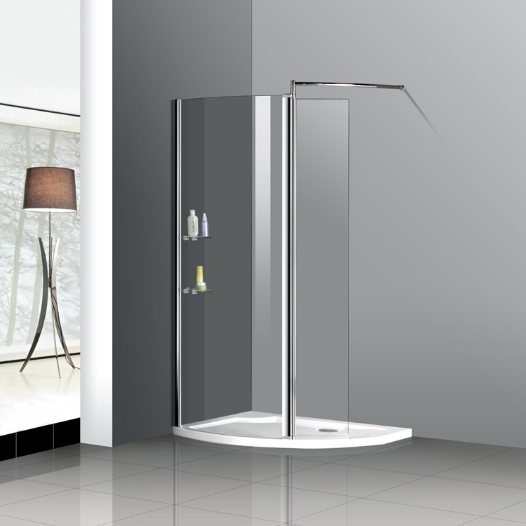 HSR02-90015 1150x800mm Stone Tray Walk In Shower Enclosure Door ...