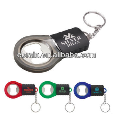 Personalized LED Bottle Opener Key Chains Imprinted With Your logo