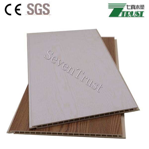 Multifunctional PVC panel for interior wall decoration /wood fiber bamboo composite panel