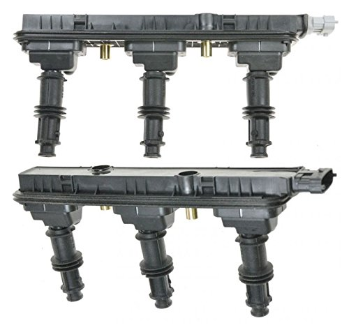 Ignition Coil Packs Pair Set for Cadillac Catera CTS Saturn Vue L