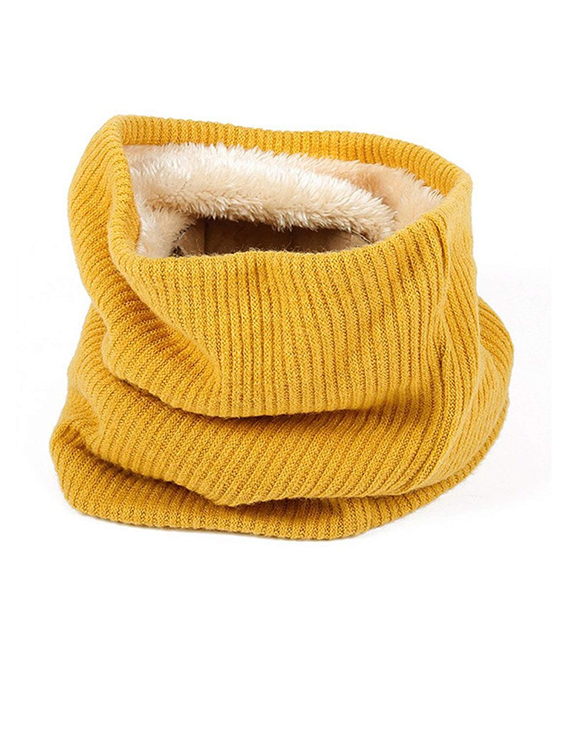 72bd4af70ab9e Get Quotations · Neck Gaiter Infinity Scarf Knit Neck Warmer Chunky Soft  Thick Circle Loop Scarves