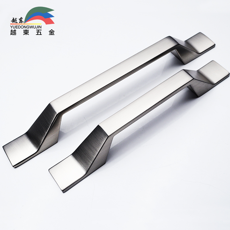 YUEDONG Zinc alloy American Continental Drawer wardrobe Door handle Modern and simple cabinet handle