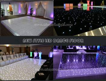 HOT new design starlit portable led dance floor light