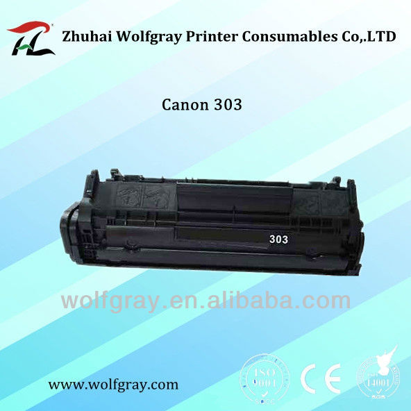 Laser toner cartridge for Canon 303