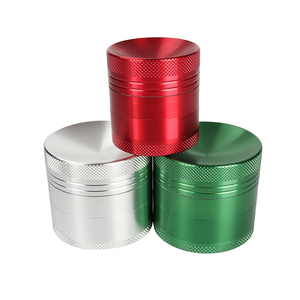 4cm smoking set customized aluminium alloy herb grinder tobacco