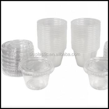 176f9ead3f9 1oz 2oz 3oz 4oz 5oz 6oz Small Clear Plastic Jello Shot Souffle Portion  Condiment Sauce Dip Cups With Lids Disposable Wholesale - Buy 1oz 2oz 3oz  4oz ...