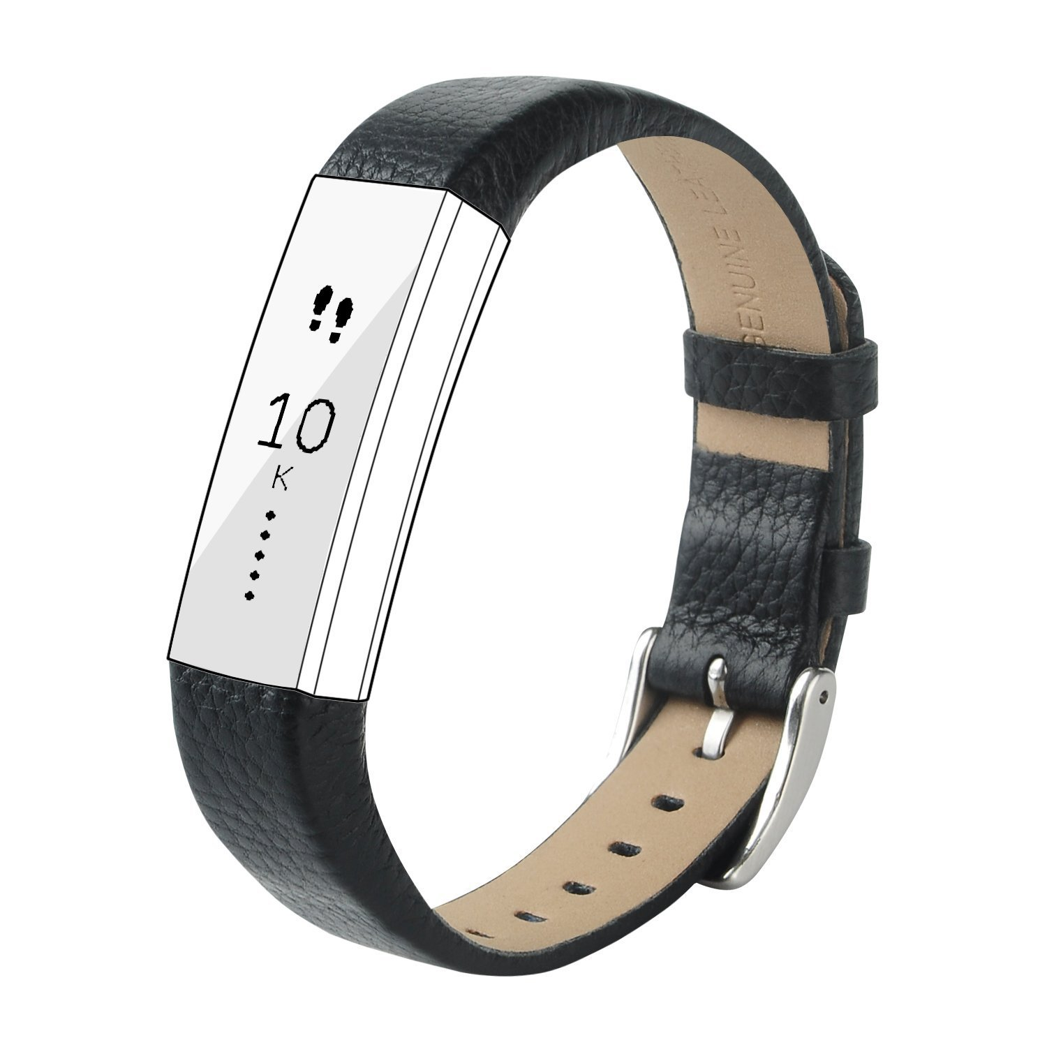 For Fitbit Alta and Alta Leather Accessory Band,CreateGreat Leather Replacement Band for Fitbit Alta HR/Fitbit Alta Bands/Alta HR