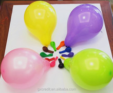 EN71 standard 12 inch round shaped 100% natural plain latex balloon for wedding decortation