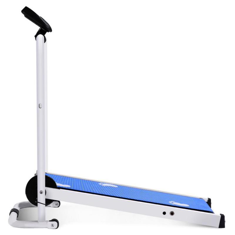 Home exercise use manual mechanical treadmill / mini walking machine