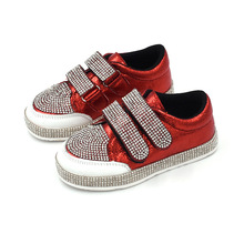 Fashion model boys sneakers soft sport child bling casual kids shoes
