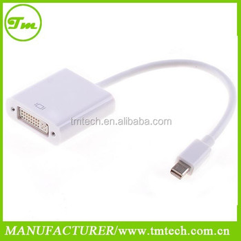 MINI DISPLAYPORT DP Male TO DVI CABLE ADAPTER DISPLAY PORT for APPLE MAC PRO