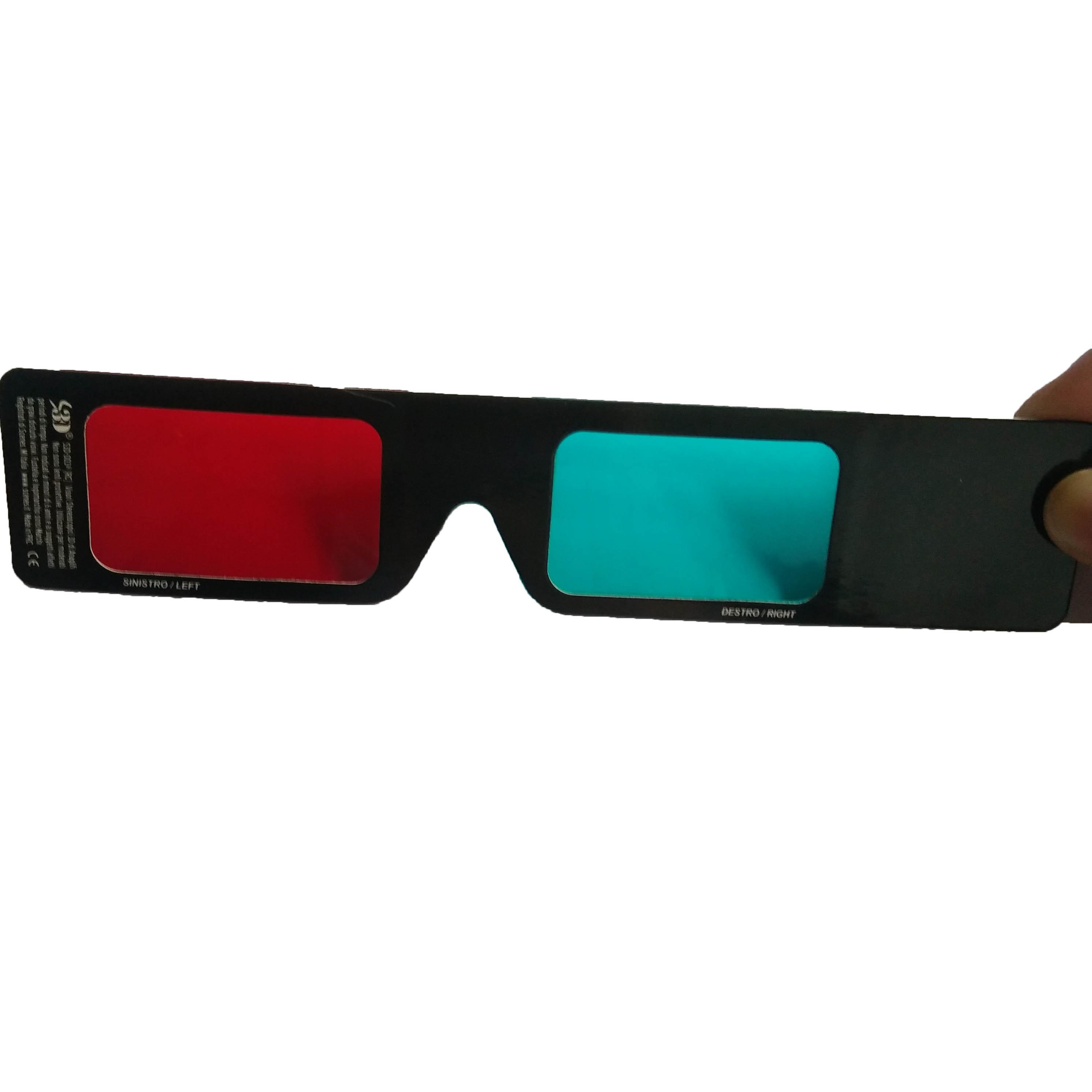 8dedb6b195c Custom Paper Anaglyph 3d Red Blue Glasses - Buy Custom Logo Paper 3d ...