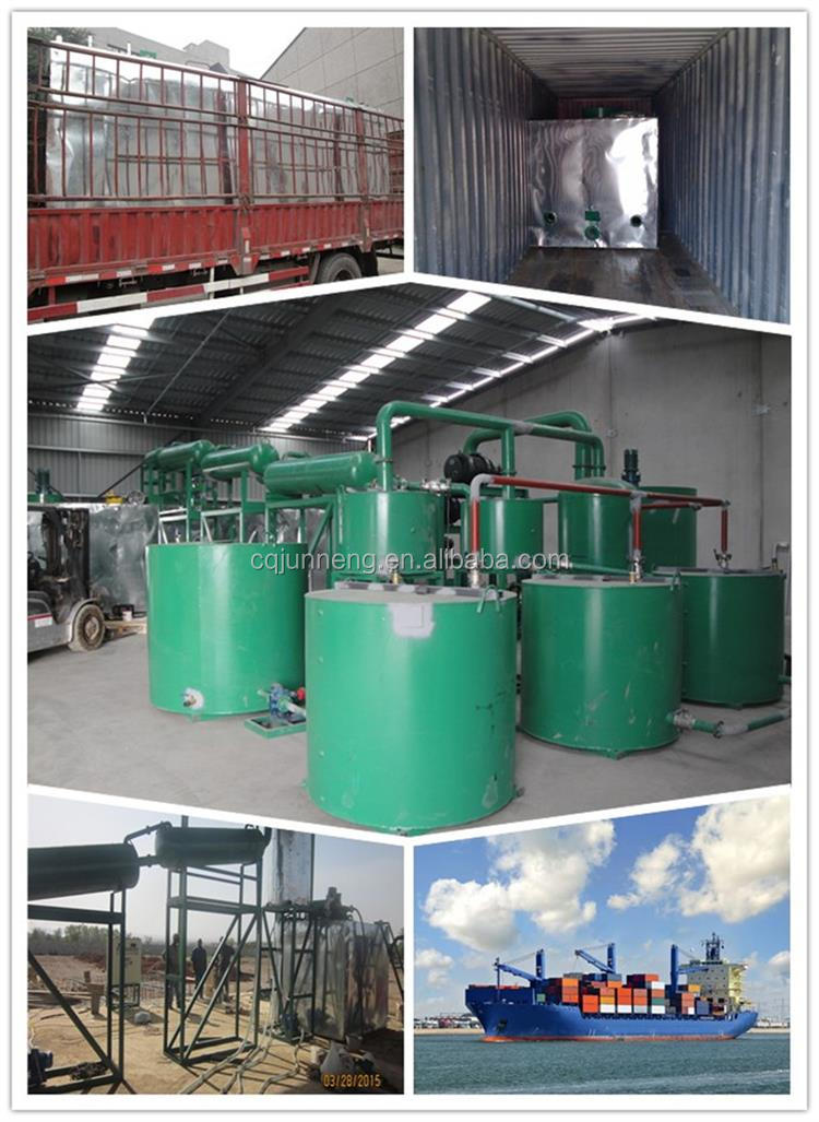2020  HOT china used engine oil regeneration machine/vacuum distillation plant/used oil recycling refinery