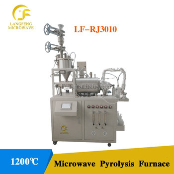 Microwave Pyrolysis Reactor For Tyre Biom Polymer Plastic Recycling