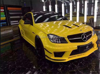 High Quality Best Selling Black Series C63 Body kit for W204 C-class C200 4 doors. c63 . Plastic material!!!Factory Price!!!