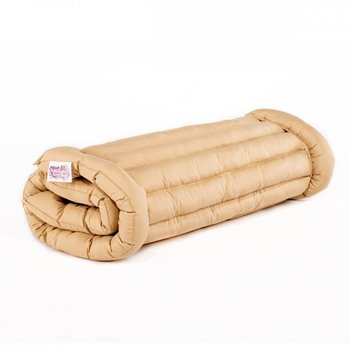 Cream Roll Up Bed Double