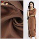 Wholesale women garment lightweight pure khaki cheap chiffon fabric malaysia