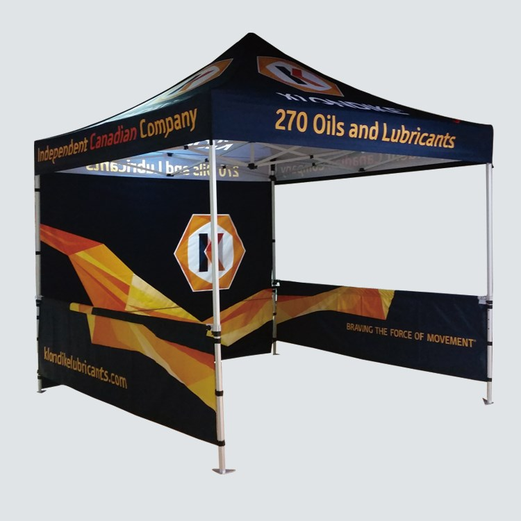 Custom Outdoor Canopy Promotion 10*10Feet Pop Up Tent <strong>Trade</strong> Show Free Printing Aluminum Frame Canvas Tent
